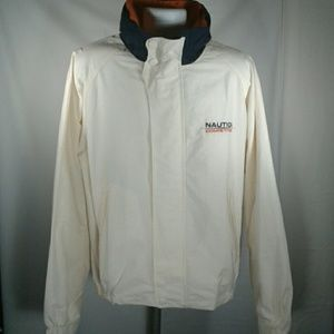 Vintage Nautica Competition Hooded Jacket